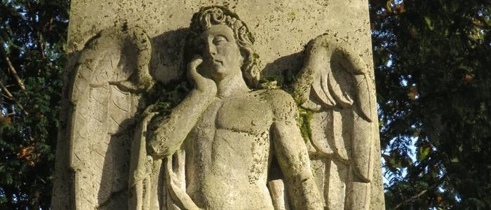 Grab von Daniel Heinrich Delius