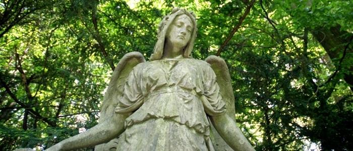 Foto: Engelstatue auf dem Melatenfriedhof © AntoniterCityTours