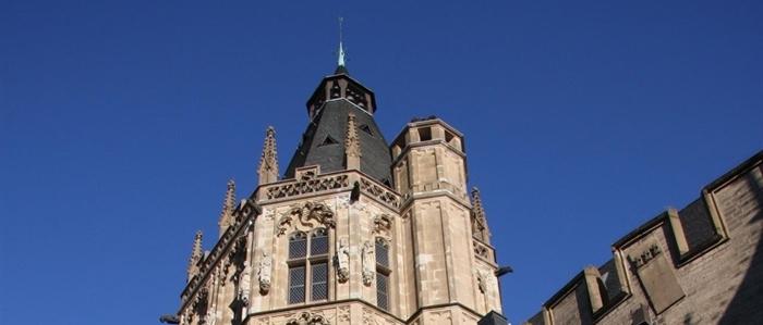 Der historische Rathausturm, fotografiert von Anselm Weyer