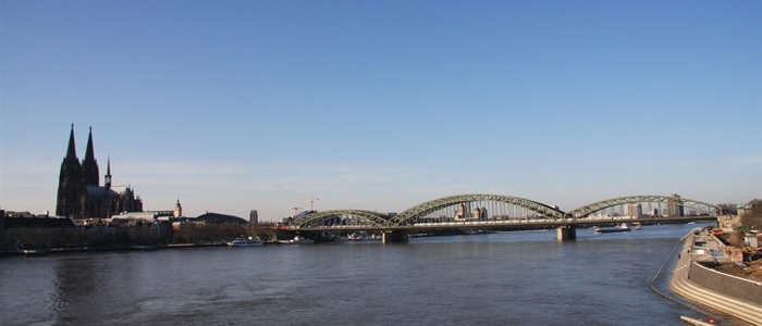 Die Hohenzollernbrücke in Köln, fotografiert von Anselm Weyer