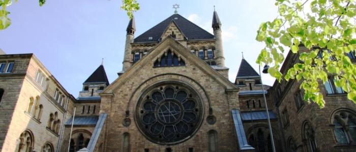 Die Synagoge am Rathenauplatz, fotografiert von Anselm Weyer